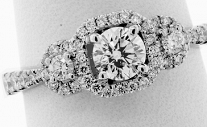 .78 CT GIA ROUND BRILLIANT ENGAGEMENT RING - EX CUT