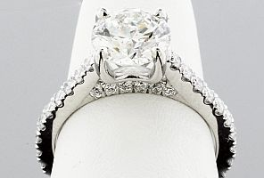 2.00 Carat GIA Certified Round Brilliant Diamond Engagement Ring