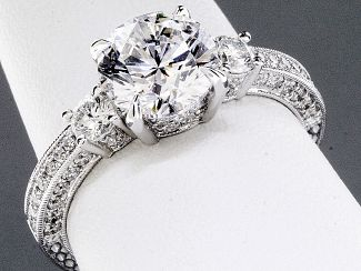 2.52 Carat GIA Round Brilliant Diamond Engagement Ring